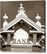 1880 Bank Canvas Print