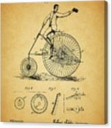 1883 Bicycle Canvas Print