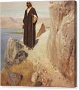 1890-1900- Vasily Polenov Canvas Print