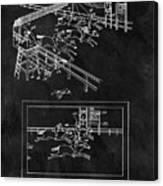 1899 Horse Track Patent Canvas Print