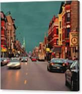 18th At Loomis Canvas Print