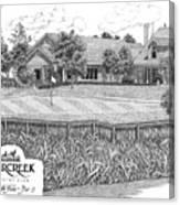 18th Hole - Deercreek Country Club Canvas Print