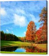 18th Hole Par3 Canvas Print