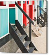Beach Huts Canvas Print