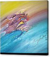 Original Abstract Masterpiece Canvas Print