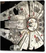 Saga Star Wars Art Canvas Print