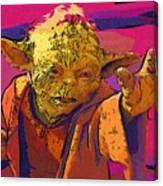 Star Wars At Art Canvas Print