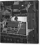 World Trade Center Under Construction 1967 Canvas Print