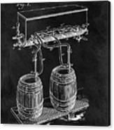 1900 Beer Cooler Canvas Print