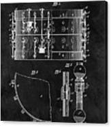 1900 Orchestra Drum Patent Canvas Print
