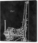 1902 Oil Well Patent Canvas Print