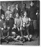 1908 Football Team Canvas Print