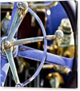 1910 Pope Hartford T Steering Wheel Canvas Print