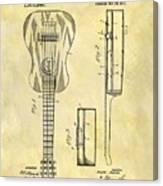 1911 Guitar Patent Canvas Print