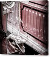 1912 Rolls-royce Silver Ghost Rothchild Et Fils Style Limousine Snake Horn -0711ac Canvas Print