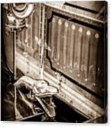 1912 Rolls-royce Silver Ghost Rothchild Et Fils Style Limousine Snake Horn -0711s Canvas Print