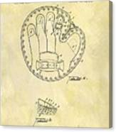 1916 Baseball Glove Patent Canvas Print