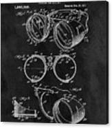 1917 Welder Goggles Canvas Print