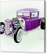 1920s Hotrod Pickup Canvas Print