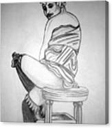 1920s Women Series 10 Canvas Print