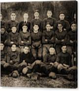 1921 Royal Cc Football Champions Canvas Print