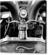 1923 Ford Hood Ornament 2 Canvas Print