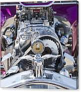 1923 Ford T-bucket Engine Canvas Print