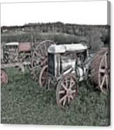 1923 Fordson Tractors Canvas Print