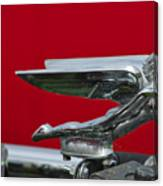 1924 Ford Hood Ornament Canvas Print