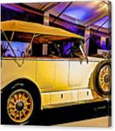 1925 Renault 40cv Tourer Canvas Print