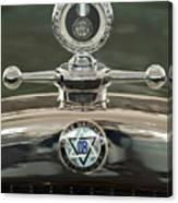 1926 Dodge Woody Wagon Hood Ornament Canvas Print