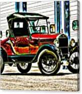 1927 Model T Ford Roadster Canvas Print