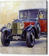1927 Rolls-royce 40-50 Phantom 1  Canvas Print