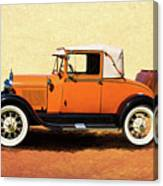 1928 Classic Ford Model A Roadster Canvas Print
