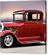 1928 Ford 'hot Rod A' Coupe Canvas Print