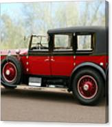 1928 Rolls-royce Phantom 1 Canvas Print