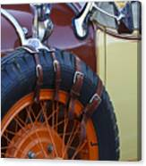 1928 Studebaker President Roadster Spare Tire Canvas Print