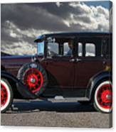 Classic 4 Door Ford Canvas Print