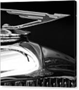 1929 Duesenberg Model J Hood Ornament 2 Canvas Print
