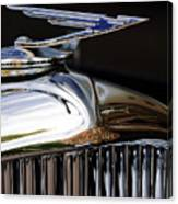 1929 Duesenberg Model J Hood Ornament Canvas Print