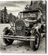 1929 Ford Model A Pickup Canvas Print