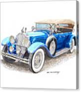 1929 Packard Dual Cowl Phaeton Canvas Print