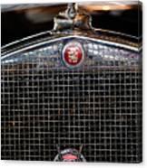 1930 Cadillac Roadster Hood Ornament 3 Canvas Print