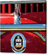 1930 Cord L29 Phaeton Emblem Canvas Print