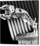 1930 Lincoln Berline Hood Ornament Canvas Print