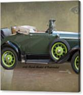 1930 Model A Ford Cabriolet Canvas Print