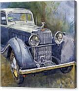 1938 Hispano Suiza J12 Canvas Print