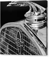 1931 Chevrolet Hood Ornament 4 Canvas Print