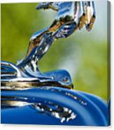 1931 Chrysler Cn Roadster Hood Ornament 2 Canvas Print