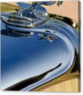 1931 Chrysler Cn Roadster Hood Ornament 3 Canvas Print